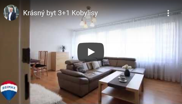 byt 3+1 Kobylisy