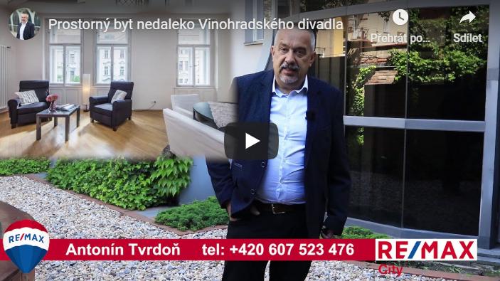 Upoutávka nanové 2 byty Praha - Vinohrady